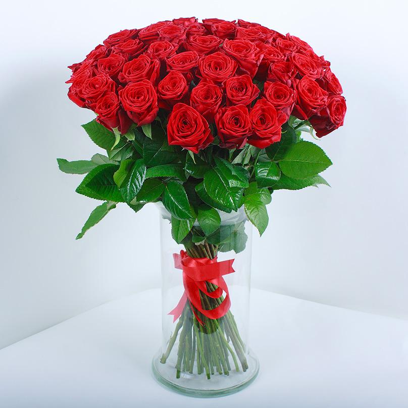Букет из красных роз фотографии