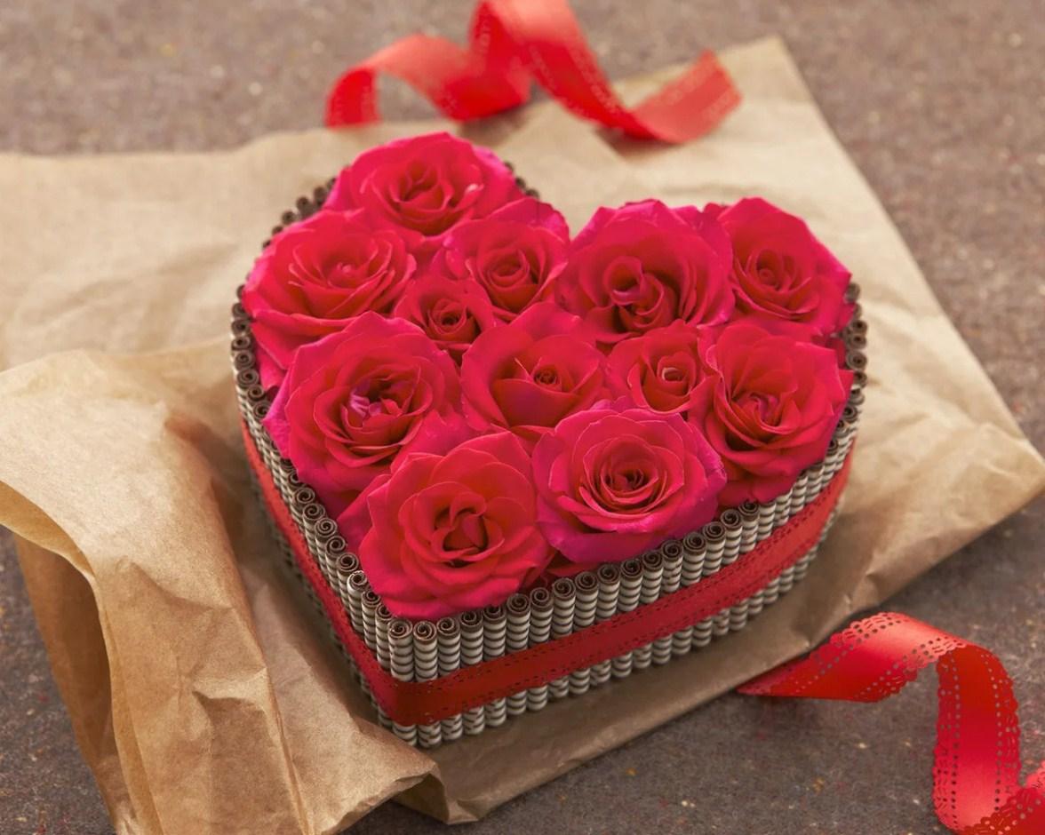 Подарочные розы фото