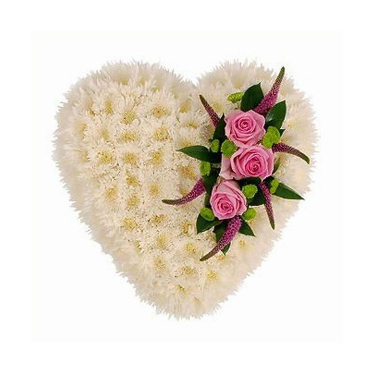 картинки цветы в виде сердец